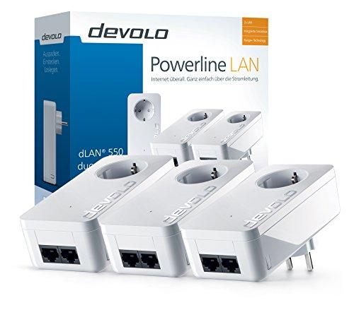 dLAN 550 duo+ Network Kit Powerline - 2
