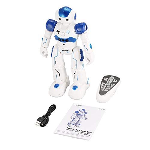 Funnyrunstore JJR/C R2 Robot da Danza Intelligente Gesto di Controllo RC Robot Giocattolo Blu Rosa per Bambini Regalo di Compleanno per Bambini Ricarica USB (Blu)