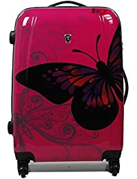 Valise extensible polycarbonate MADISSON 16820B PINK 65 cm
