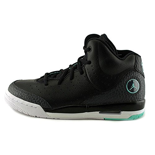 Nike Jungen Black / Hyper Turq-Anthrct-White Basketballschuhe Black (Schwarz / Turq-Anthrct Hyper-weiß)
