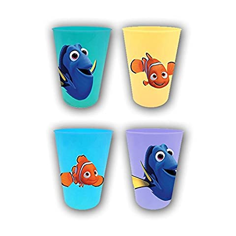 Dory Disney Findet Drinking Cup Juice Cups Set of 4