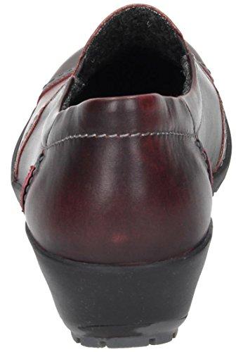 Comfortabel Damen Slipper rot, 941941-4 rot