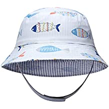 6e6a3b002 Ateid Sombrero de Sol Reversible para Bebés Niño