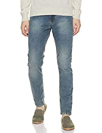 Amazon Brand - Symbol Men's Relaxed Fit Slim Jeans