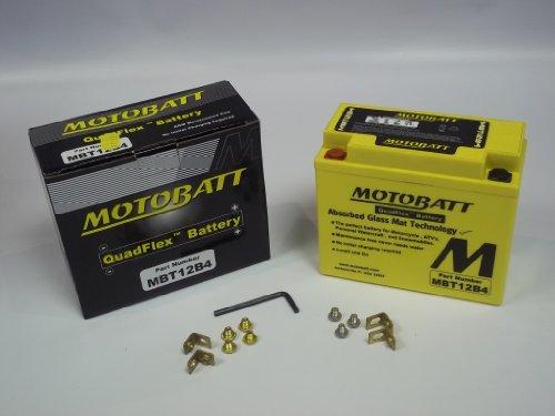 MotoBatt QuadFlex MBT12B4 - Batteria per Aprilia Sport City 125, modelli 2004-2008