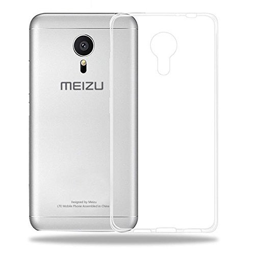 AMFIN Transparent Back Cover For Meizu M3S, Premium Transparent Clear Silicon Flexible Soft TPU Slim Back Case Cover For Meizu M3S Back Cover