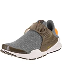 Nike Women's Sock Dart SE Dark Loden/Dark Loden/Sail/Gold Leaf Running Shoe 8 Women US
