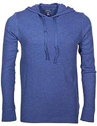 9a4c58ccabb2e6 Polo Ralph Lauren - Sweat-Shirt à Capuche - Uni - Homme Bleu Bleu Marine