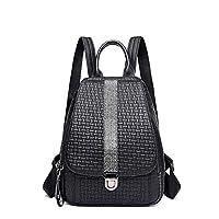 HEIMIAOMIAO Ladies bag Women Diamonds backpacks High Quality Fashion Softback Classic Elephant Pattern PU Leather Backpack School Bags For Teenage Bags