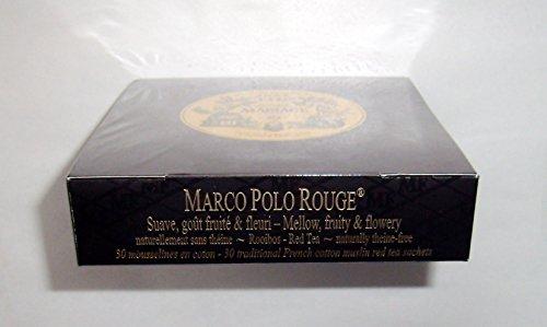 Mariage Frères - MARCO POLO ROUGE - Boîte de 30 sachets mousseline de thé