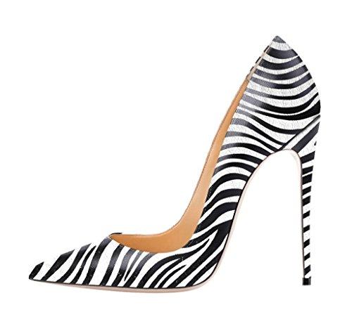 uBeauty - Scarpe da Donna - Scarpe col Tacco - Classiche Scarpe col Tacco Multicolore C