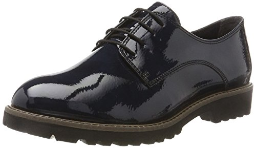 Tamaris Damen 23214 Oxfords, Blau (Navy Patent), 39 EU