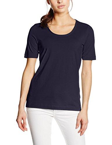 s.Oliver Single Jersey, T-Shirt Donna Blau (navy 5959)