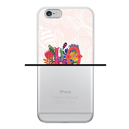 iPhone 6 6S Hülle, WoowCase Handyhülle Silikon für [ iPhone 6 6S ] Mondrian Stil Rechtecke Handytasche Handy Cover Case Schutzhülle Flexible TPU - Transparent Housse Gel iPhone 6 6S Transparent D0468