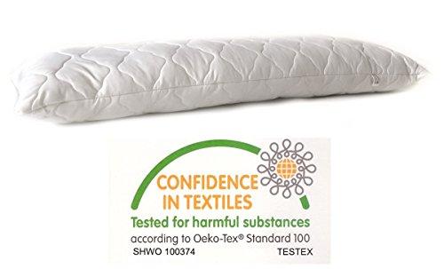 *Seitenschläferkissen Schwangerschaftskissen 145x40cm Körperkissen Stillkissen Seitenkissen Microfaser Kissen Bett Füllung 1400 gramm*
