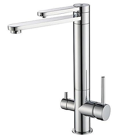 Heißer und kalter Küchenarmatur Wasserreinigung Trinkwasser + warmes und kaltes Wasser (Brunnen Belüfter)