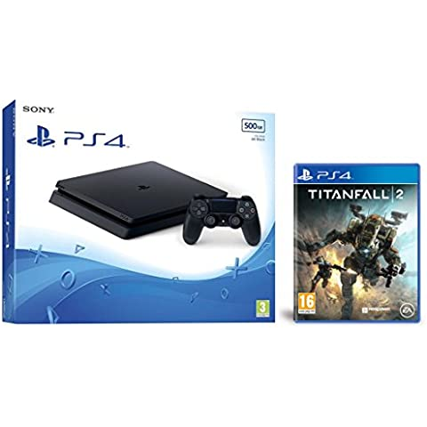 PlayStation 4 Slim (PS4) 500 GB - Consola + Titanfall 2