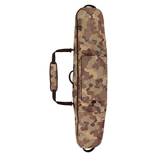 Burton Gig Bag Snowboard Tasche, Mehrfarbig (Storm Camo Print) 146 (151 x 33 x 18 cm, 0.1 Liter) (Camo Snowboard-ausrüstung)