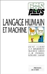 Langage humain et machine