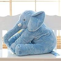 Plush Elephant Pillow Baby Elephant Stuffed Plush Pillow Toy Office Cartoon Sofa Cushions Lovely Animal Dolls