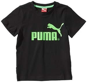 Puma JR FD LL T-Shirt garçon Noir FR : 16 ans (Taille Fabricant : 176)