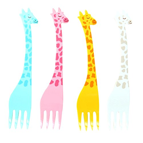 MaxS Creative Kids Fruit Fork Cute Giraffe