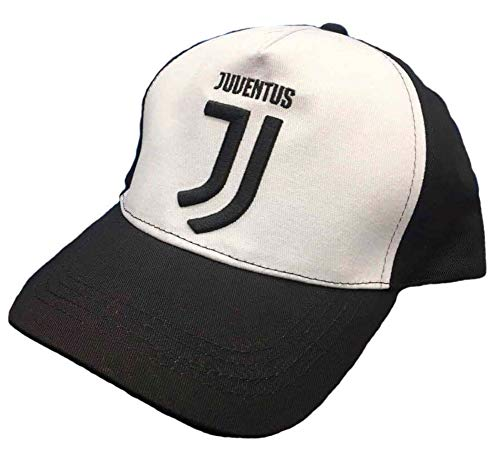 Cappello juventus nuovo logo jacquard 100% cotone