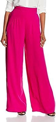 Pedro del Hierro Ancho Pliegues, Pantalones para Mujer