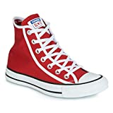 Converse 163980C Red Chuck Taylor all Star Hi Junior Rosso Bianco White (40 EU)