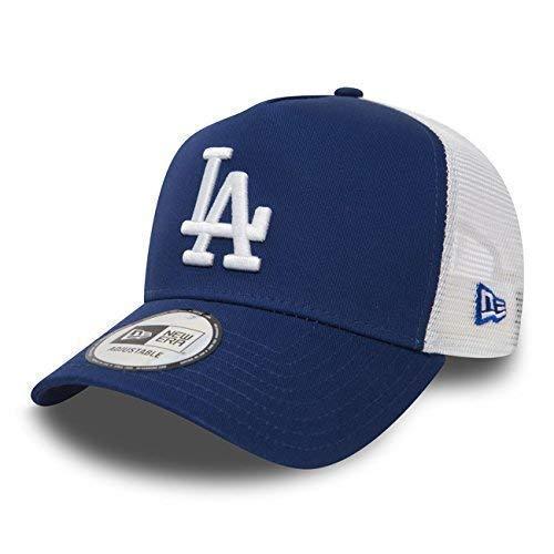 New Era Trucker Mesh Cap im Bundle mit UD Bandana LA Dodgers Royal - 2830 (Mit Hut Bandana)