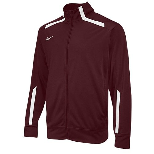Gekapselte Air (Nike Team Overtime Jacket 598443 670 Maroon/White Size X-Large)