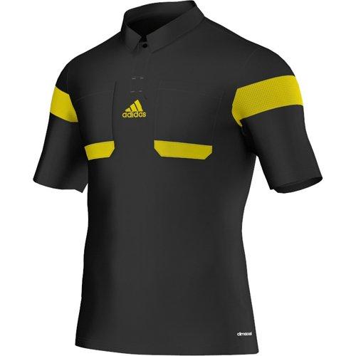Adidas Schiedsrichter Trikot 13/14 Herren Schwarz-Neongelb, G73814_Größe:M