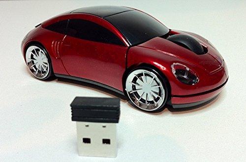 souris-sans-fil-style-porsche-rouge-pc-bureau-portable