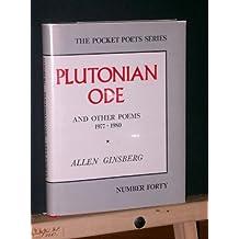 Plutonian ode: Poems, 1977-1980 (Pocket poets series)