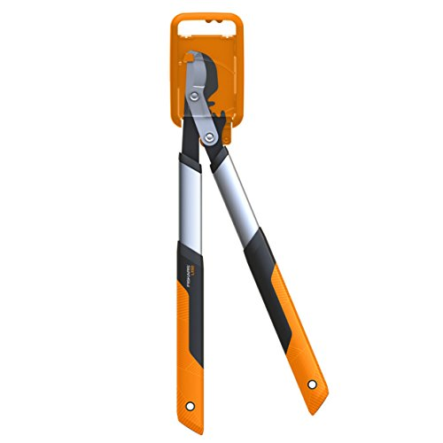 Fiskars Fiskars PowerGear X Bypass-Getriebeastschere für frisches Holz, Gehärteter Präzisionsstahl, Maße: Länge 57 cm, Orange/ Schwarz, LX92-S, 1020186, Schwarz&Orange - 2