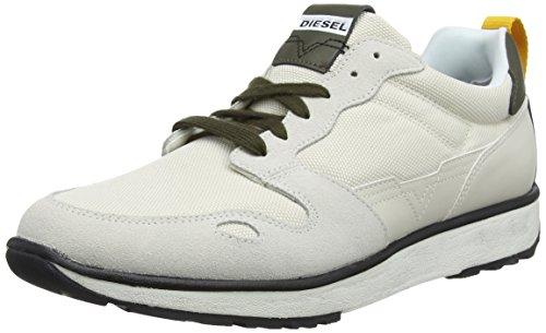 Diesel s-rv low, scarpe da ginnastica basse uomo, avorio h6774, 43 eu