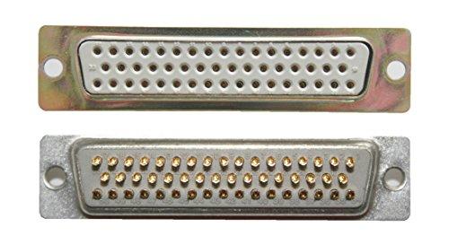 Preisvergleich Produktbild D-Sub Stecker 50 polig weiblich Lötanschluss (0246)