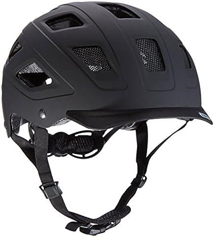 ABUS Hyban Casque Vélo Velvet Black Taille , M, 52-58