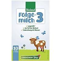 Lebenswert bio Folgemilch 3, 5er Pack (5 x 475 g)