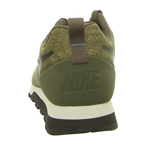 Nike-Pantaloncini da Rugby della Francia, da uomo Verde (Cargo Khakiblacklt Blue Fury 301)
