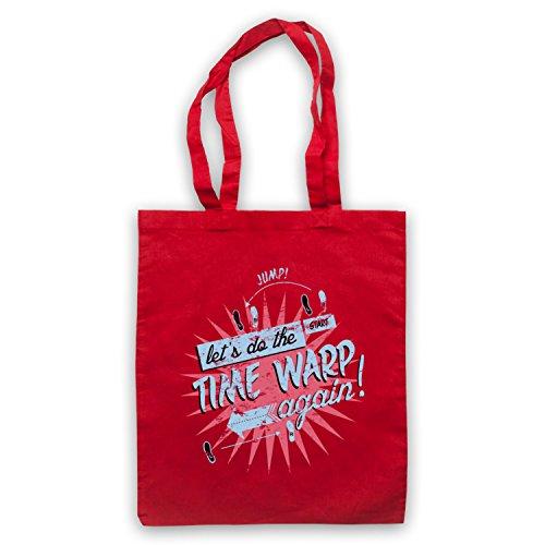 Inspiriert durch Rocky Horror Picture Show Time Warp Inoffiziell Umhangetaschen Rot