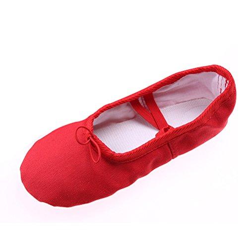 BESTOYARD Chaussures de Ballet pour fille Chaussure de danse pour enfant