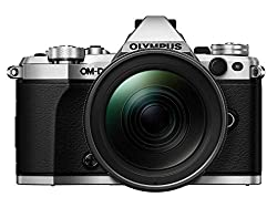 Olympus OM-D E-M5 Mark II Kit, Micro Four Thirds Systemkamera und M.Zuiko Digital ED 12-40 mm F2.8 PRO Universalzoom, silber/schwarz