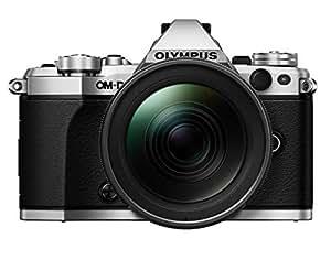 Olympus OM-D E-M5 Mark II Camera - Silver/Black (16.1 MP, M.Zuiko 12 - 40 mm Pro Lens)