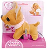 Simba 5890297 - Peluche - Chichi Love - Mini Chien à Clé - 13 cm - Marron