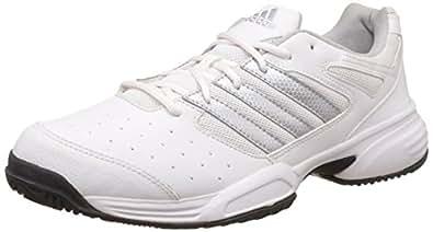 adidas uomini sterzare str 2 bianco, metsil nero e scarpe da tennis 12