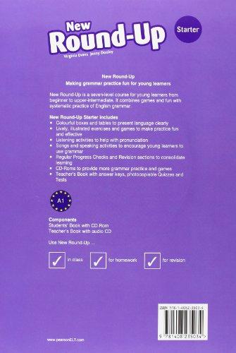 Round Up Ne Starter Level - Students' Book (+Cd) (Round Up Grammar Practice)