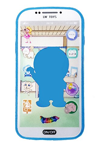 Emob 3D Digital Smart Mobile Phone with Touch Screen Feature, Amazing Sound and Light Toy for Best Gift for Kids(Assorted Color & Variation )