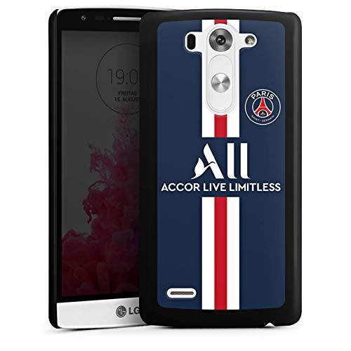 DeinDesign Hülle kompatibel mit LG G3 S Handyhülle Case Paris Saint-Germain PSG Trikot Fanartikel