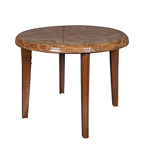 Cello Prudent Four Seater Dining Table (Sandalwood Brown)